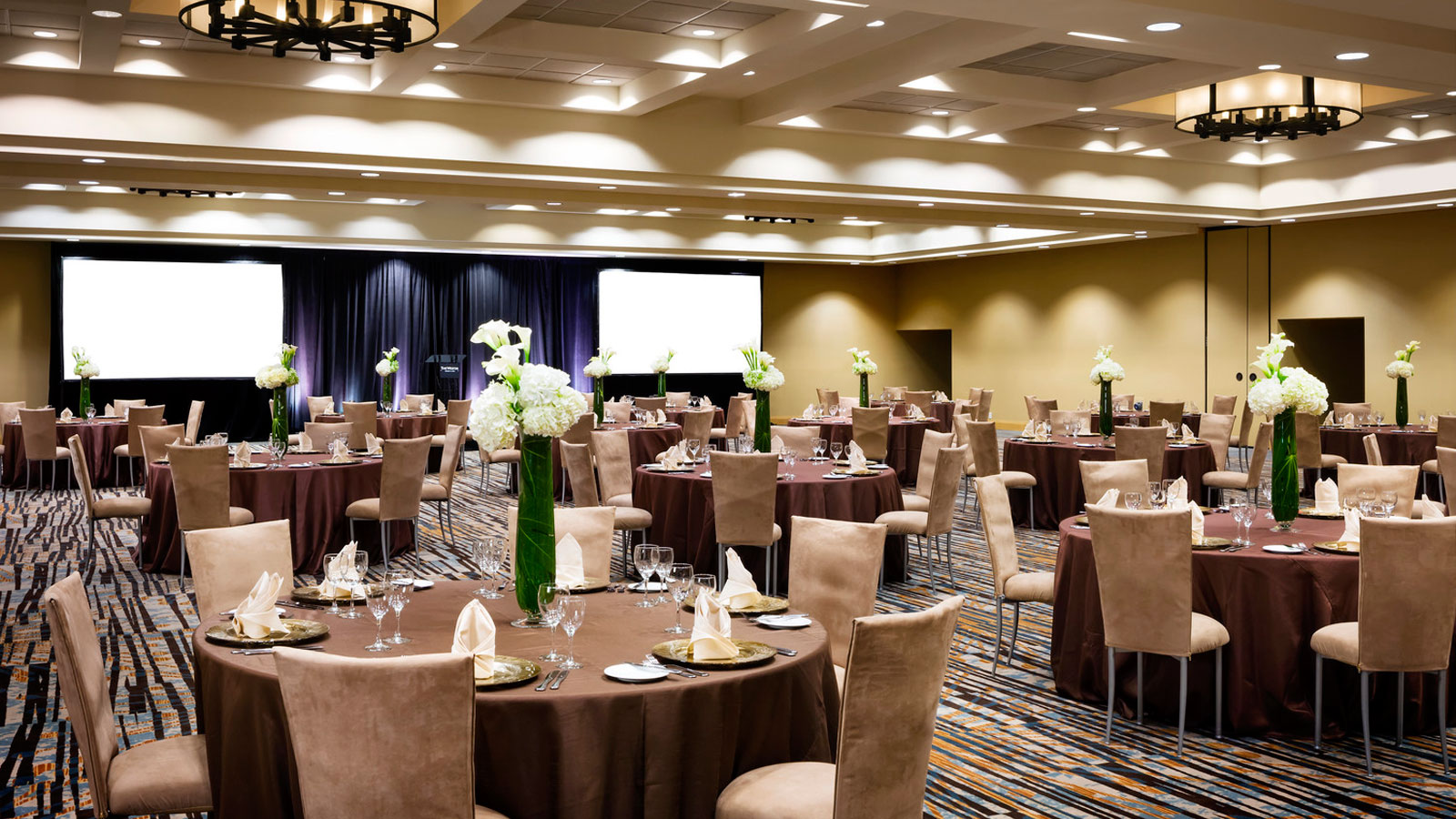 Whistler Wedding Venues - Emerald Ballroom Gala