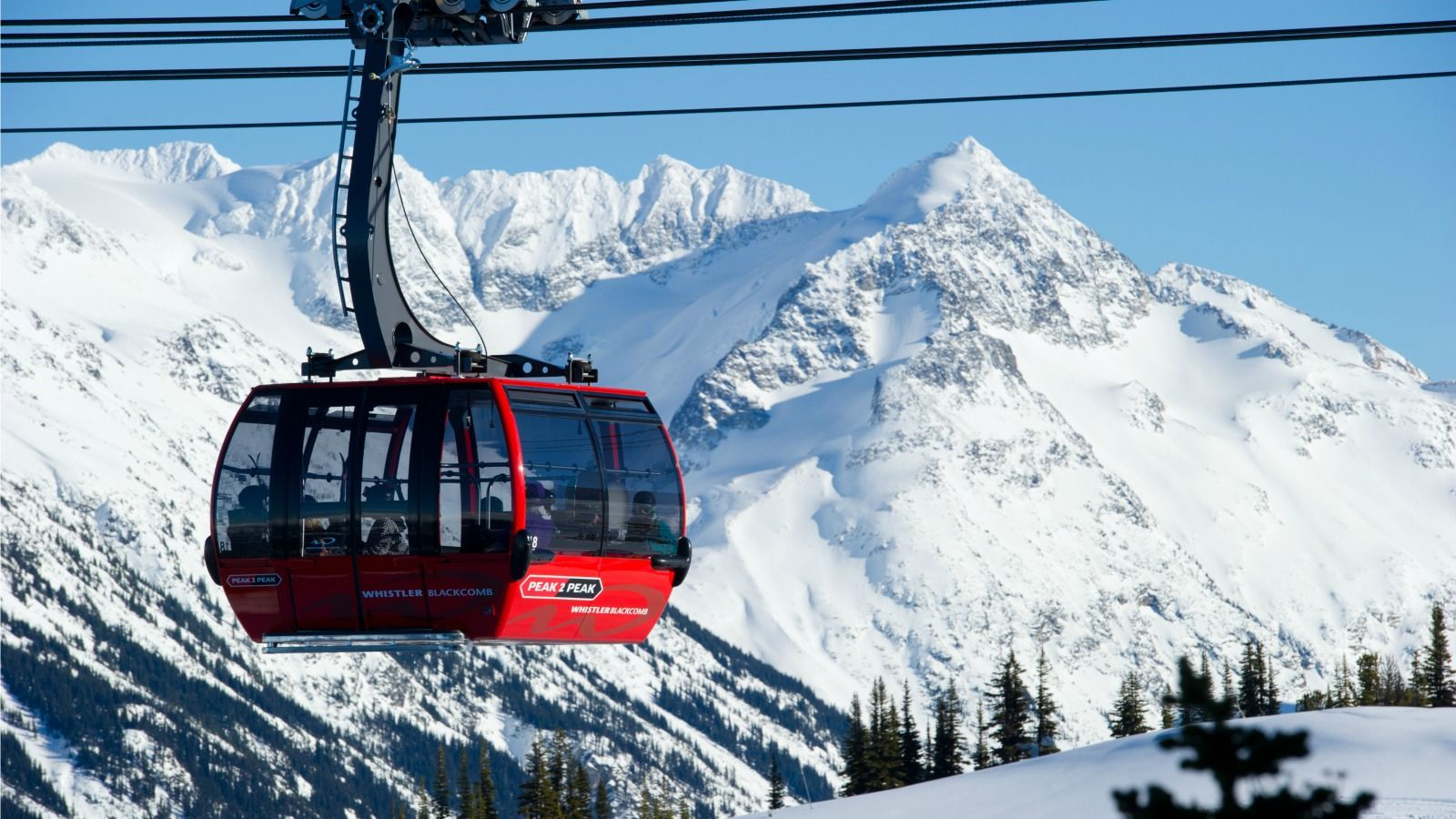 Things to Do in Whistler - Winter - Gondola