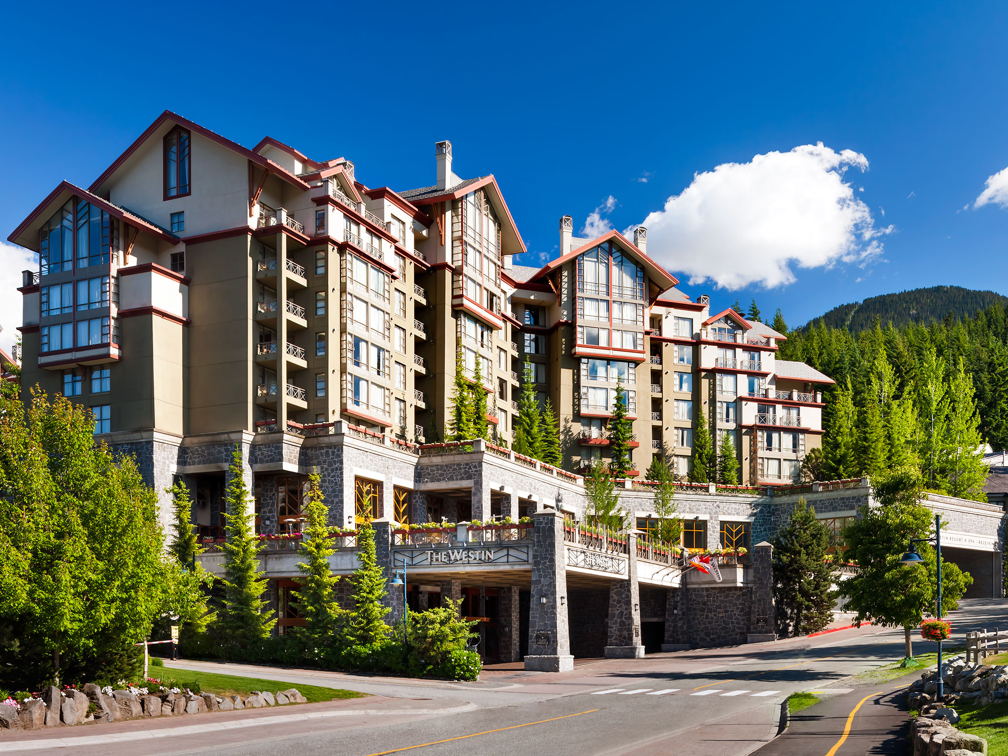 Directions to Westin Whistler - The Westin Resort & Spa, Whistler