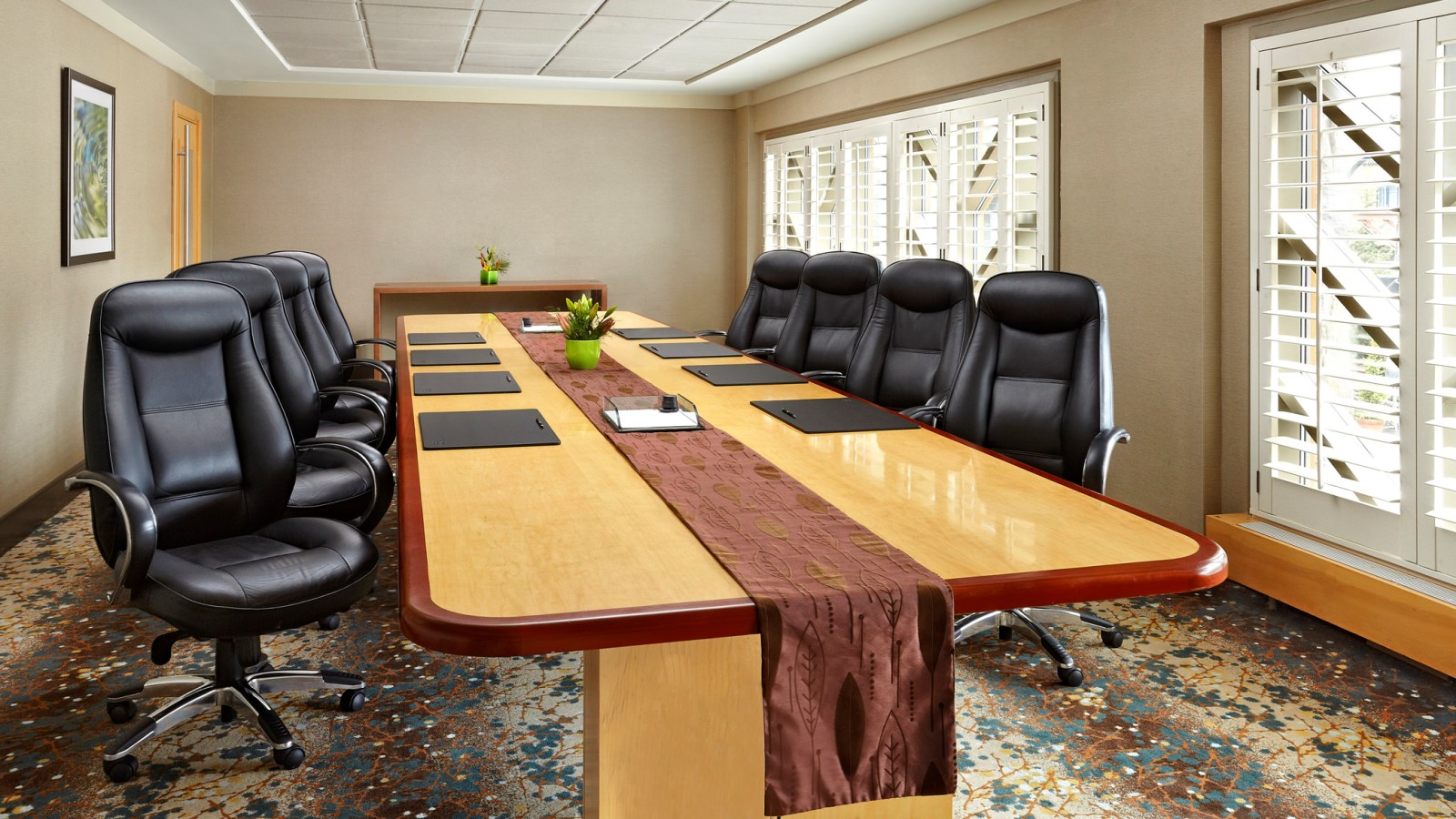 Whistler Meetings - Crystal Boardroom
